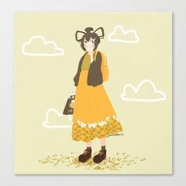 Daydreaming Tsuyu Canvas Print