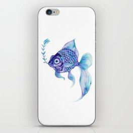 Baby Blue #5 iPhone Skin