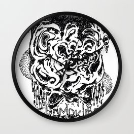 Birdhat Rat Wall Clock