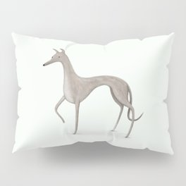 Whippet Portrait Pillow Sham