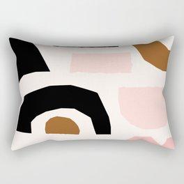 Paper Pieces 1 Rectangular Pillow