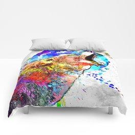 Coyote Grunge Comforters