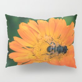 Summer Flowers and the Honeybee Pillow Sham