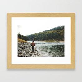Kootenai National Forest Framed Art Print