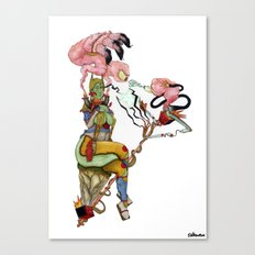 Clash Of The Holy Smokes Canvas Print