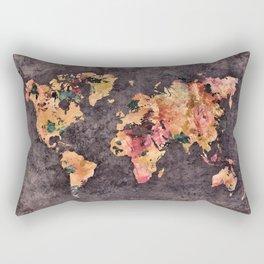 world map 68 Rectangular Pillow