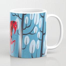 Smug red horse Coffee Mug