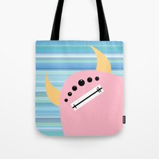 Pink Monster Tote Bag