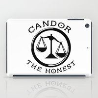 divergent iPad Cases featuring Divergent - Candor The Honest by Lunil