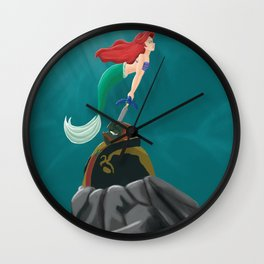 ariel and ganondorf Wall Clock