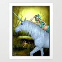 Enchanted Fantasy Art Print