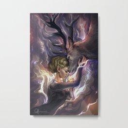 Queen of Terrasen. Metal Print
