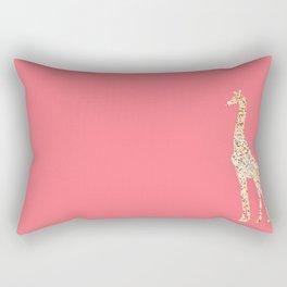 The Many Spotted Giraffe Rectangular Pillow