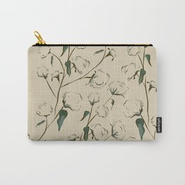 Cotton Bolls Carry-All Pouch