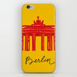 Brandenburg Gate in Berlin iPhone Skin