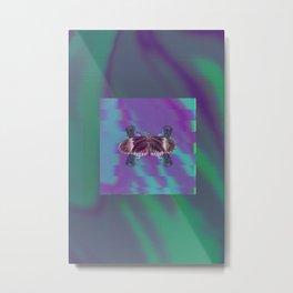 Box Energy Metal Print