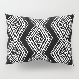 diamondback in black & white Pillow Sham