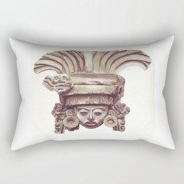 Mayan statue Rectangular Pillow