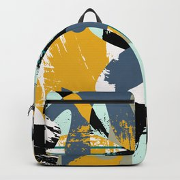 Mid-Century Abstract Backpack