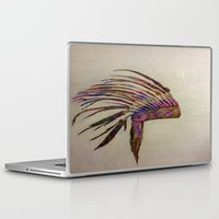 native Laptop & iPad Skins featuring Native  by Emily Bingham