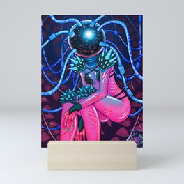 Space Warrior Mini Art Print