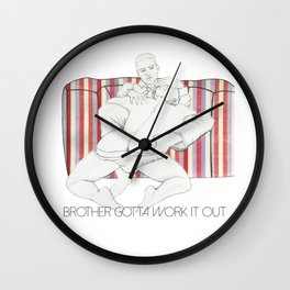 Work it out Wall Clock