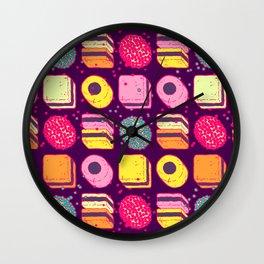 Licorice Allsorts 2 Wall Clock