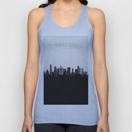 City Skylines: Buenos Aires Unisex Tank Top