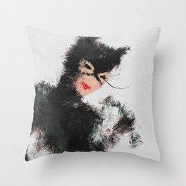 Selina the Cat Throw Pillow