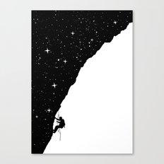 night climbing Canvas Print