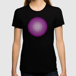 vivid hexagons T-shirt