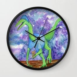 Bedtime Dinosaur - Oliver Wall Clock
