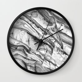Coastal Rock Wall Clock
