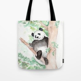 Panda, Hanging Out Tote Bag