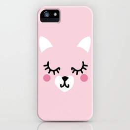 Pink Kittie iPhone Case