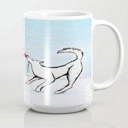 Canine Christmas (Snowman) Coffee Mug