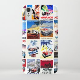 Monaco Grand Prix 1930 1966 iPhone Case