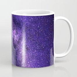 Galaxy, Space, Stars, Blue, Pink, Abstract, Nature, Art, Modern, Wall art Print Coffee Mug