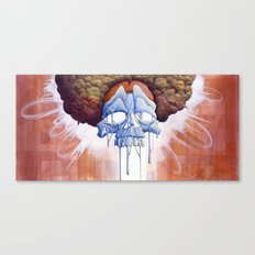 Drippy Hippy Canvas Print