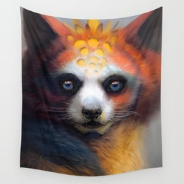 Exotic Fox Wall Tapestry