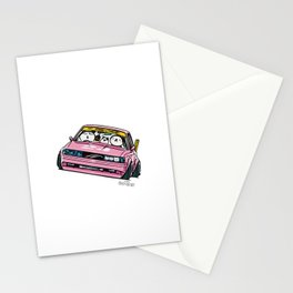 Crazy Car Art 0139 Stationery Cards