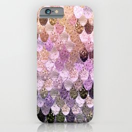 SUMMER MERMAID MOONSHINE  GOLD 2 iPhone Case