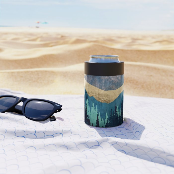 Blue Forest Can Cooler