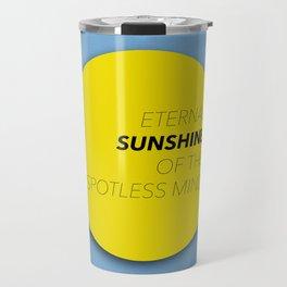 Eternal Sunshine of the Spotless Mind Travel Mug