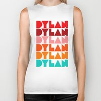 dylan Biker Tanks featuring Dylan by Jeremy Lin