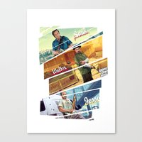 gta Canvas Prints featuring Breaking Bad mashup GTA V  by Akyanyme