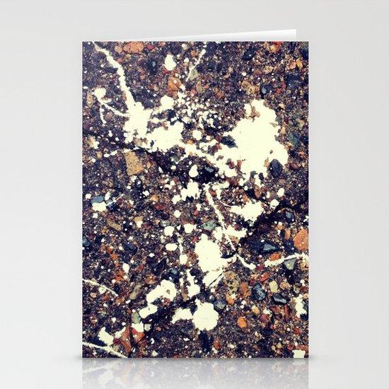 Splattered Paint Stationery Cards