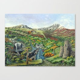 Prelude To Powys Canvas Print