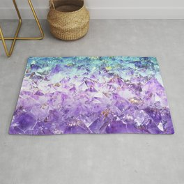 Alexandrite crystal rough cut Rug