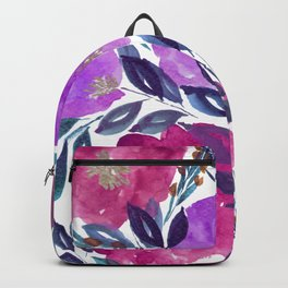 hand painted flowers_2 Backpack